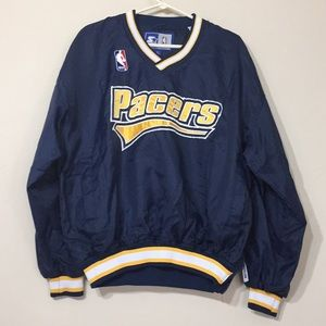 Pacers starter pullover jacket